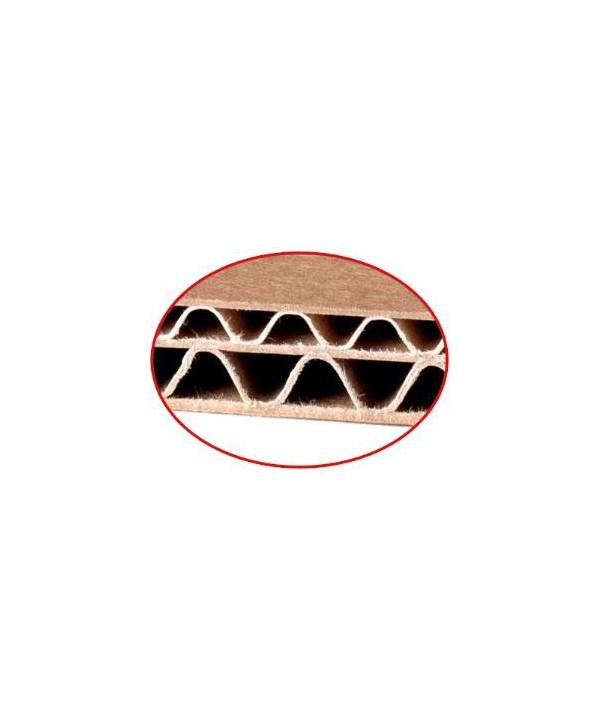 Rollo de cartón ondulado 0.9m x 50m