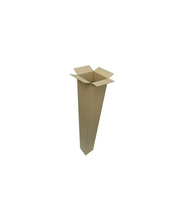Caja de Cartón Telescópica 15 x 15 x 60/100 s/asas
