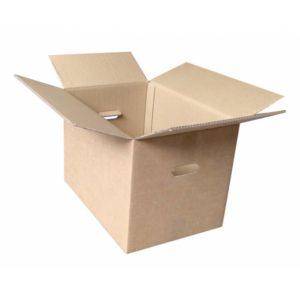 Caja de cartón marrón para Archivos de 53 x 36 x 38